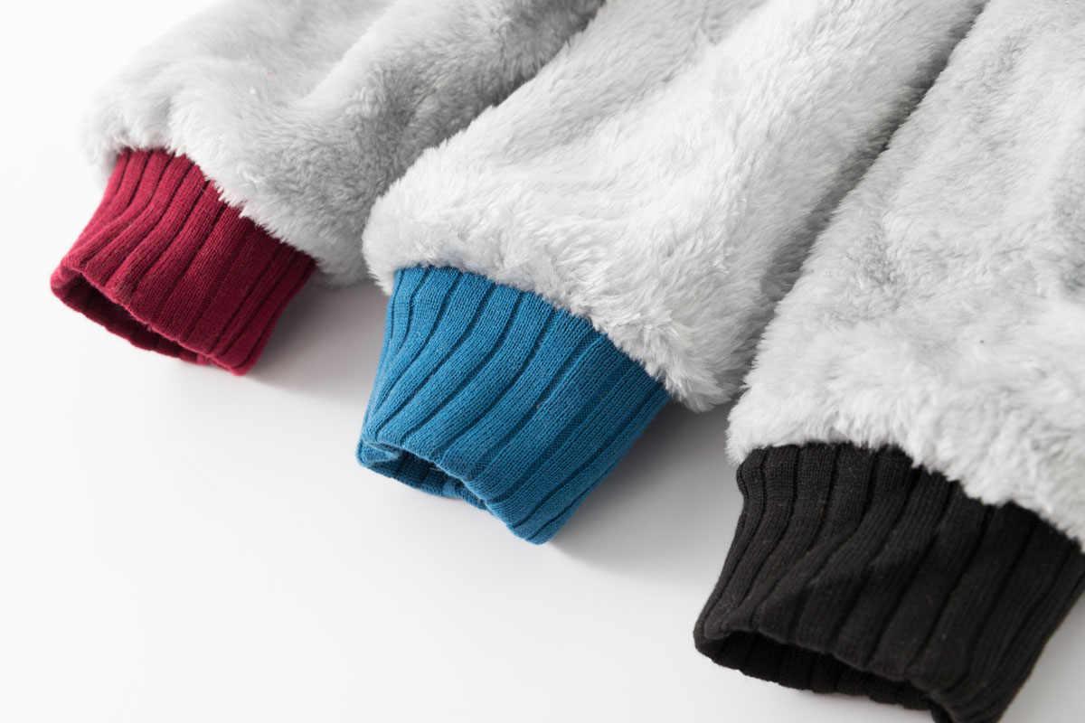 Hampson lanqe 속보 heisenberg 스웨터 남성 2019 겨울 따뜻한 양털 캐주얼 남성 두꺼운 까마귀 브랜드 남성 자켓 남성