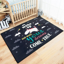 Kids Cotton Infant 100CM Waterproof Play Mats Game Baby Cotton Crawling Carpet Floor Rug Baby Blanket Pad Children Room Decor infant shining baby play mat children folding game carpet kids crawling mats anti skid tatami rugs cotton blanket for children