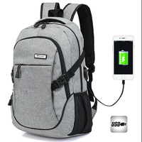 2017 New USB Charging Men Backpack Brand Laptop Notebook Travel Bag For Women Male Female Back