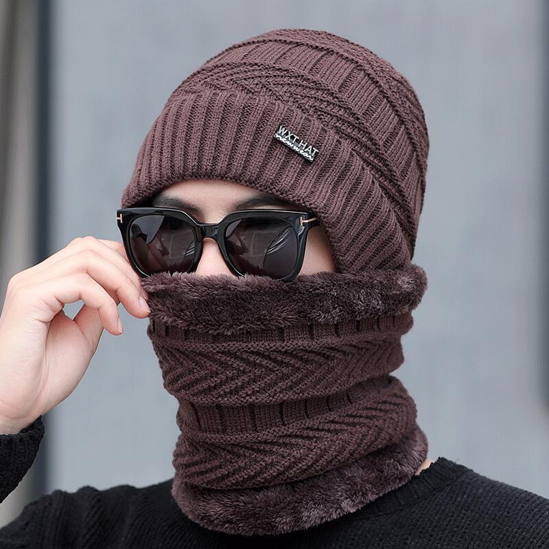 Seioum Winter Hats   Skullies     Beanies   Hat Winter   Beanies   For Men Women Wool Scarf Caps Balaclava Mask Gorras Bonnet Knitted Hat