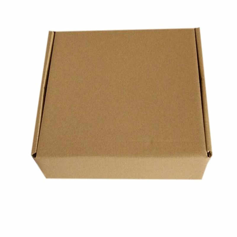 ขายปลีก 23*16*6 ซม. 10 ชิ้น/ล็อตกระดาษสีน้ำตาลคราฟท์กล่องโพสต์ Craft Pack กล่องบรรจุภัณฑ์เก็บ Kraft กล่องกระดาษกล่องไปรษณีย์ PP774