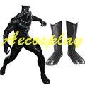 Pantera negro Botas Zapatos de Cosplay Disfraces Héroe Capitán América Guerra Civil Props