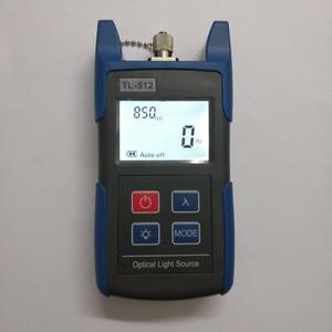 Image 4 - 무료 배송 TL512 핸드 헬드 멀티 모드 광섬유 광원 850 1300nm MM