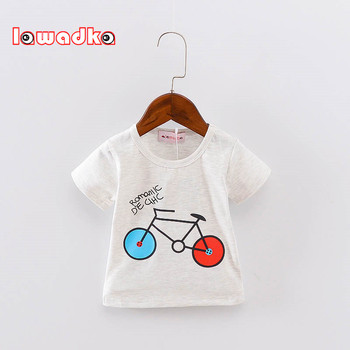 Baby's Bicycle Printed Cotton T-Shirt 1