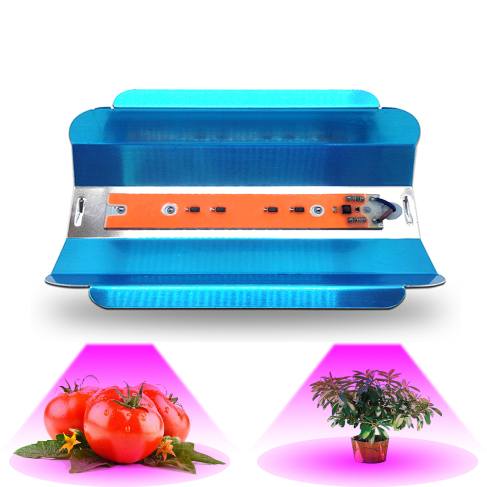 LED Phyto Lamp 30W 45W 75W High Power LED Floodlights Grow Lights AC110V IP65 Full Spectrum spotlight for indoor planting