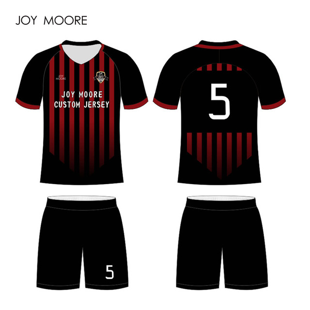 create custom made high quality sublimation  football jerseys