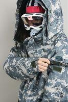 New Premium Southplay Winter Waterproof 10,000mm Skiing Snowboard (Light Khaki Military Jacket OR Denim Pants)