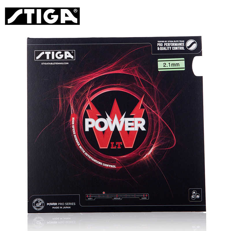 STIGA POWER LT Table Tennis Rubber Pimples In With Tenis Sponge Ping Pong Tenis De Mesa