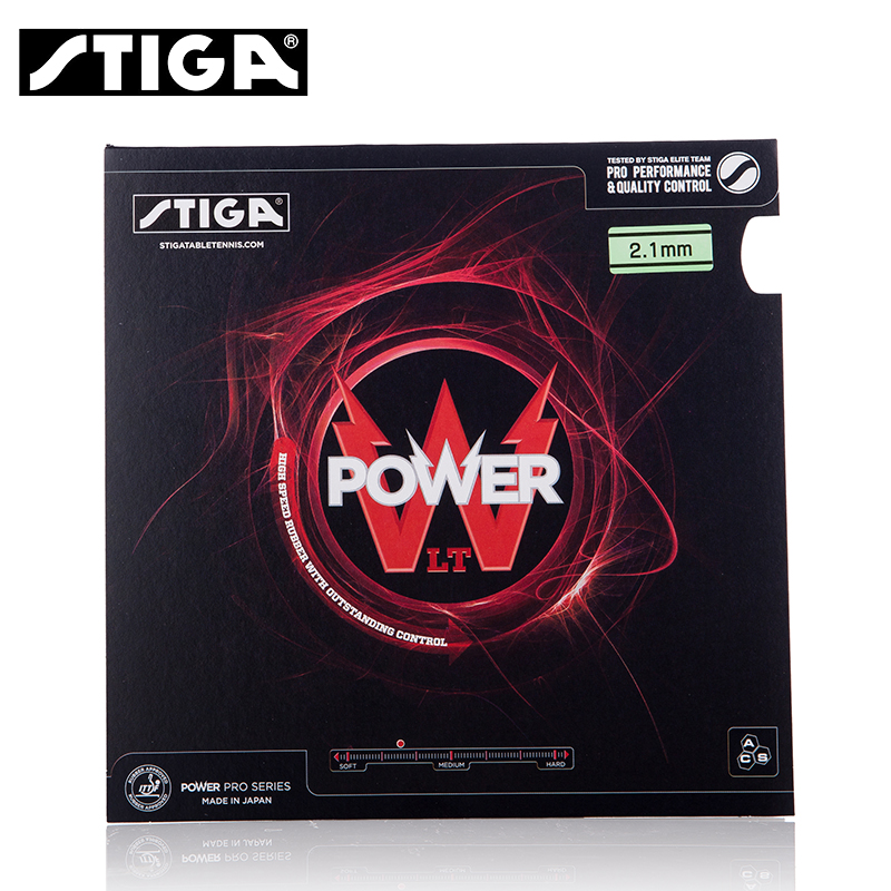 STIGA POWER LT Table Tennis Rubber Pimples In With Tenis Sponge Ping Pong Tenis De Mesa цена