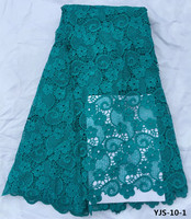 Hot Sell African Cord Lace Tissue 5 YARD High Quality Guipure Lace Cotton Fabrics For Sewing