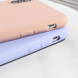 Image 4 - Einfache Candy Farbe Telefon Fall Für iPhone XS MAX X XR 7 8 Plus Weiche TPU Silikon Zurück Abdeckung Für iPhone 6 6 s Plus NEUE Mode Capa