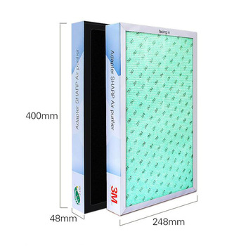 5 In1 Multifunction Replacement Filter for Sharp Air Purifier KC-W280SW/R KC-Z280SW KC-BB30-W KC-WB3-W Air Purifier Parts цена 2017