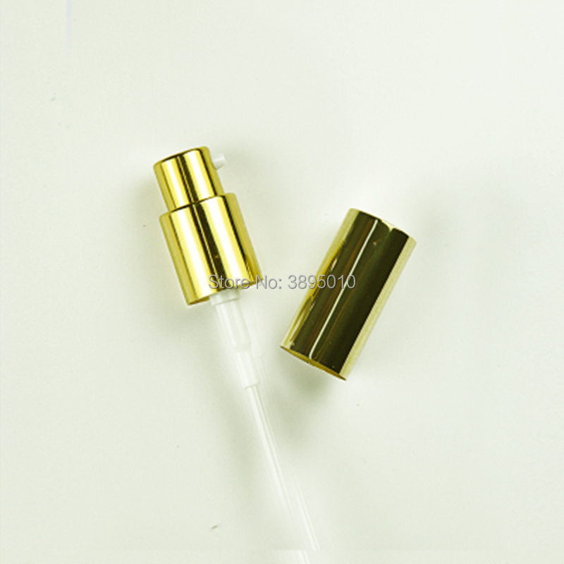 Bouchons de bouteille argent noir en aluminium couvercle de pompe de pulvérisation de brouillard tête couverture 18mm verre bouteille cou applicable bouteille de parfum pulvérisateur F1075 - 3