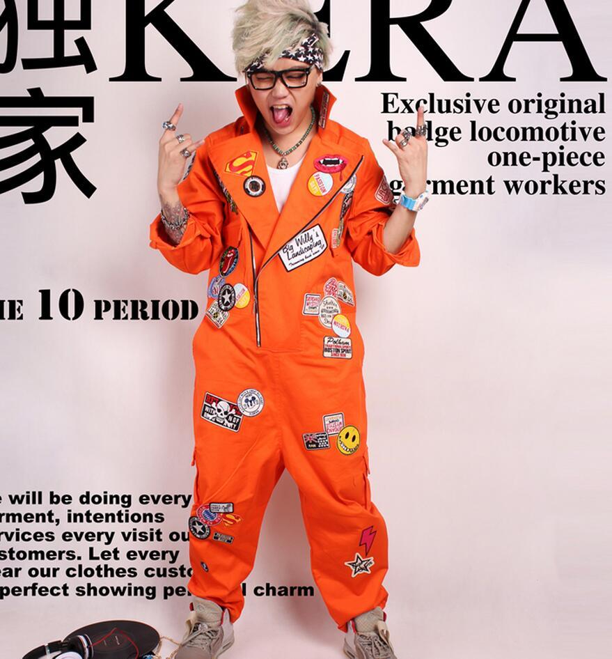 Mens Orange Jumpsuit Promotion-Shop for Promotional Mens Orange ...