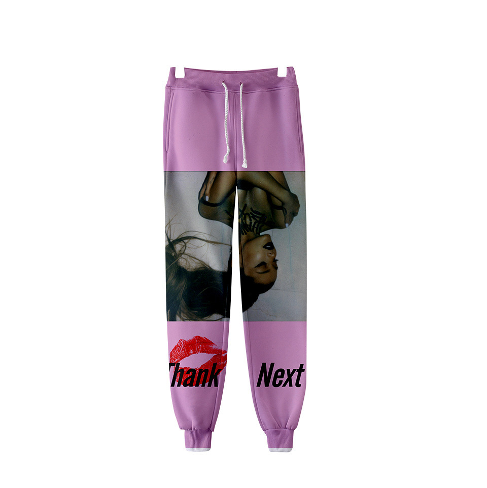 Ariana Grande 3D Joggers Pants Women Harajuku Fashion Loose Full Tie Dye Hip Hop Sweatpants Trousers High Street Casual Pants