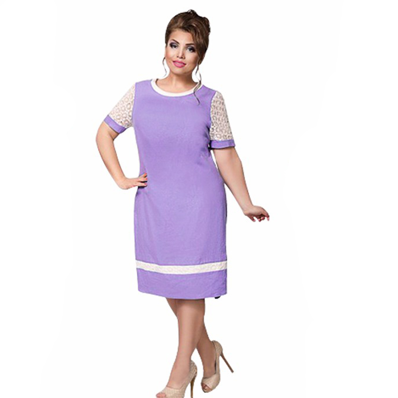 2018 New Fashion Tunic Summer Dress Work Sheath Formal Dresses for ...