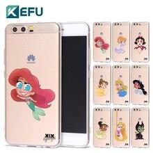 For fundas Huawei P9 lite case Cute Princess soft TPU cover for Huawei P8 lite case 2017 new arrivals for Huawei P10 Lite case