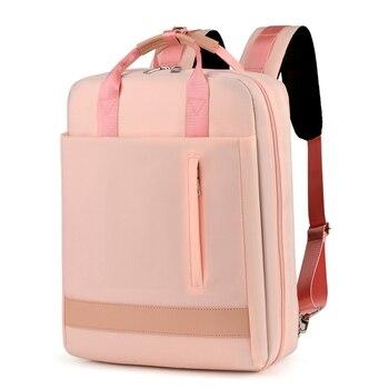 2019 Новый Модный водонепроницаемый рюкзак из ткани Оксфорд для путешествий, мужской и женский рюкзак для ноутбука 13 14 15,6 дюймов Macbook Pro