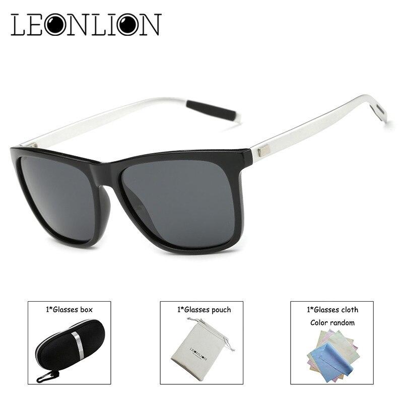 d280b1186f6 LeonLion 2018 Fashion Square Outdoor Polarized Sunglasses Men Vintage Sun  Glasses 100% UV400 for Driving Fishing Oculos De Sol-in Sunglasses from  Men s ...