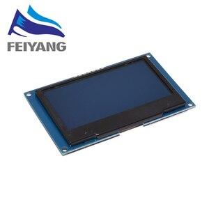 """Image 1 - 2.42 """"2,42 inch LCD Screen Weiß Gelb Grün Blau 128x64 OLED Display Modul IIC I2C SPI Serielle für C51 SPD0301"""