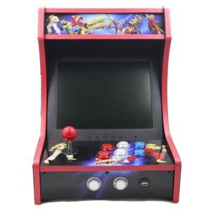 Image 2 - RAC B400 Mini Bartop Arcade Joystick Game Machine Kast Raspberry Pi 4 Model B 4Gb 128G Retro Game Console sf