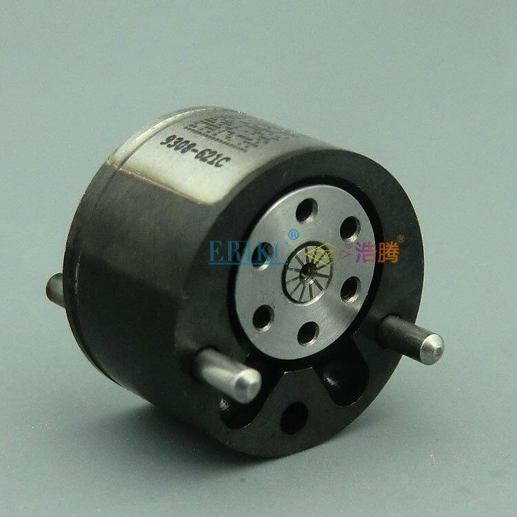 ERIKC inyector diesel Válvula de 9308-621C 28239294 28440421 común carril válvula revestimiento negro Válvula de 9308Z621C 28538389 9308 621C EU3/4