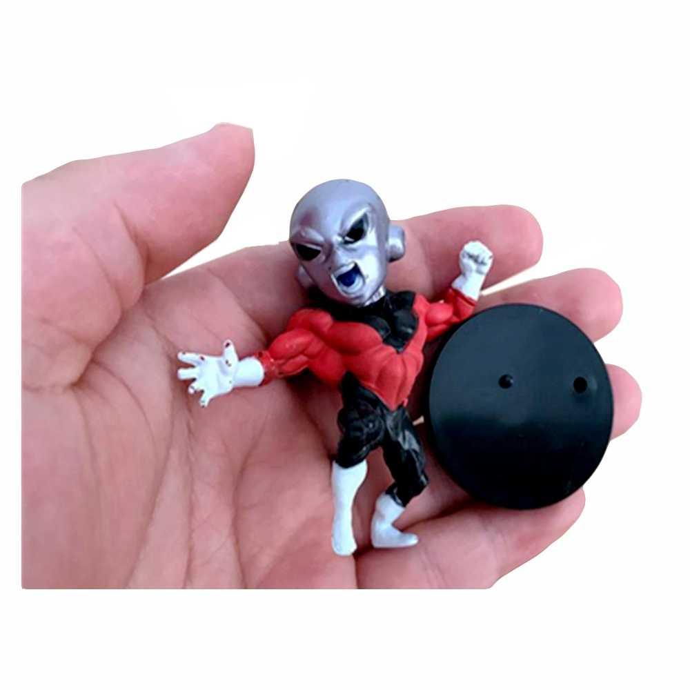 1 pçs dragon ball super figura de ação broly preto deus super saiyan goku vegeta broli pvc modelo anime coleção brinquedo do miúdo