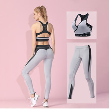 New Women Clothing Yoga Clothes Female Fitness Tracksuit Bra Leggings Sport Pants Suits Sexy Tops Slim Sportswear