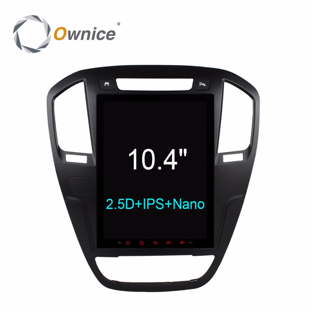 10.4 Ownice C600 Octa Core Android 6.0 Car DVD Player for Buick Regal 2009 -2013 opel insignia gps head units radio stereo 4G