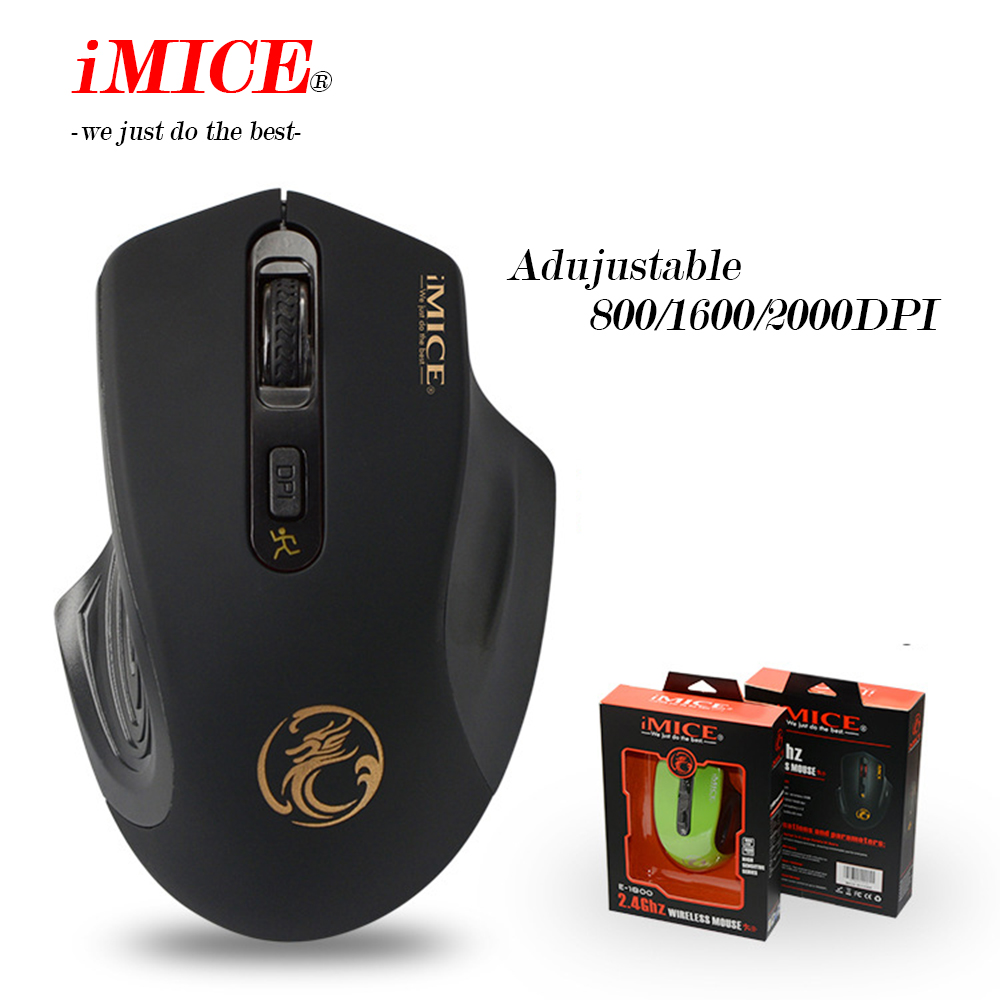 Image 3 - iMICE Wireless mouse 2000DPI Adjustable USB 3.0 Receiver Optical Computer Mouse 2.4GHz Ergonomic Mice For Laptop PC Mouse-in Mice from Computer & Office