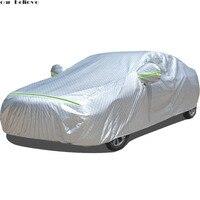 car covers waterproof umbrella sun shade funda coche For peugeot 407 subaru xv chevrolet captiva xc90 car retractable curtain