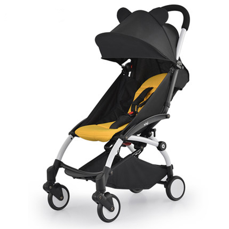 Hot mom Baby stroller Can sit can be lying light portable folding children's ultra-light cart kids poussette baby carriage/prams baby stroller 3 in 1 portable light umbrella folding baby carriage can take a lying cart can be on the plane bebek arabasi