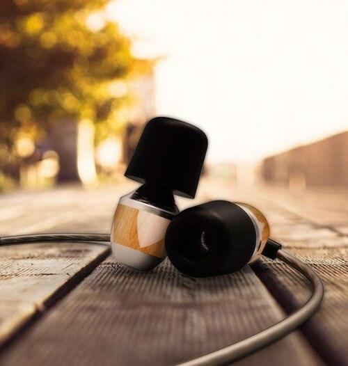 New Original VJJB K4 K4S Wooden Bass In Ear Ebony Earphone Bass DIY Magic Sound With Mic Upgrade VJJB V1 Earphone vjjb v1 v1s earphone with mic dual driver speakers hifi quality sound metal in ear headset stereo bass monitor sport earbuds
