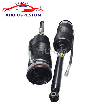 2pcs For Mercedes W221 S CL Class Rear Hydraulic ABC Shock Suspension Absorber Strut 2007-2012 2213208813 2213200413 2213208713