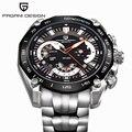 Pagani Дизайн Оригинальный бренд Мужчины Смотреть Хронограф diver Luxury Известный Бренд Часы Мужчины Часы Из Нержавеющей Стали часы для Мужчин