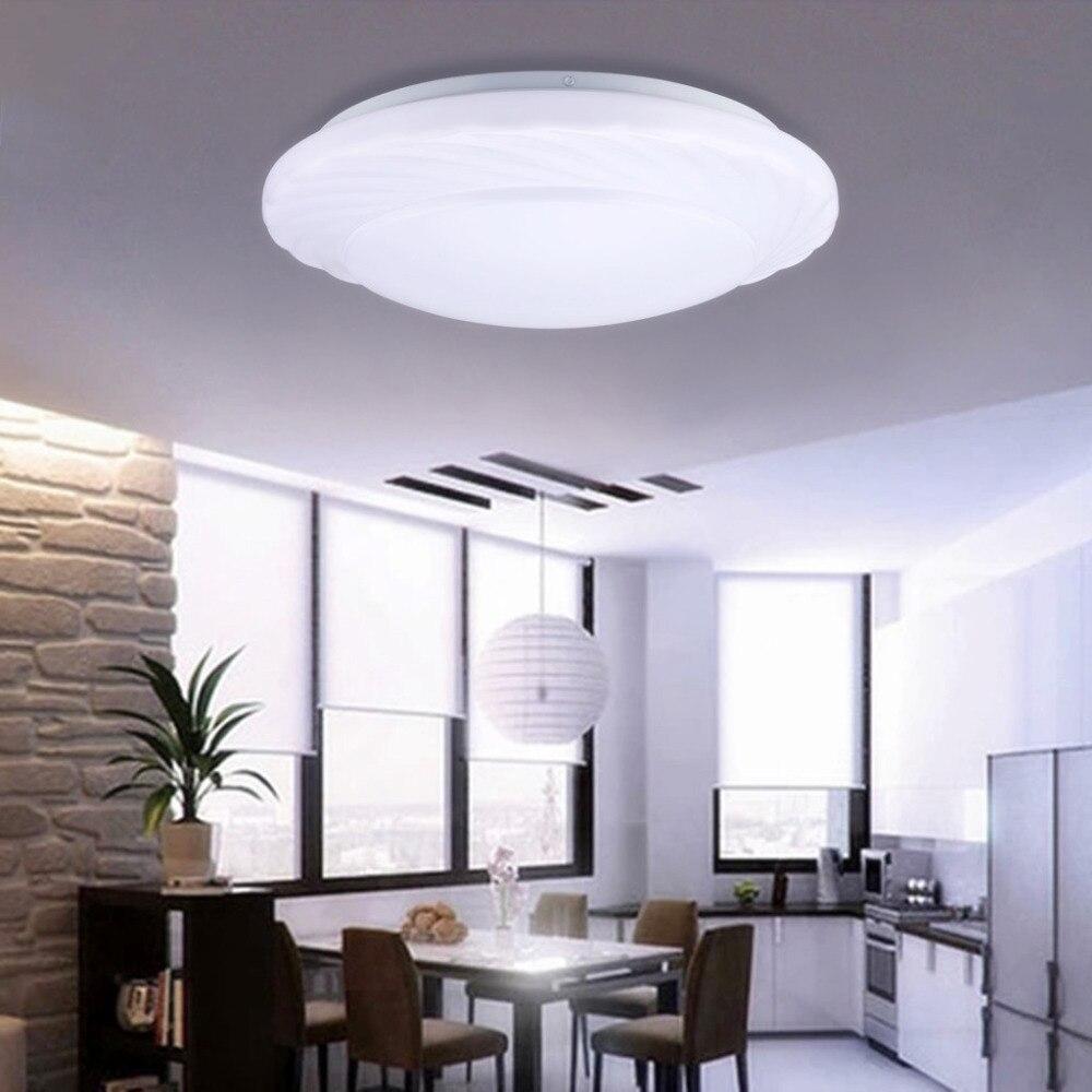 Bright Ceiling Lights: NEW Modern LED Ceiling Light 18W 7000k Bright Light 1600 Lumens Round LED  Ceiling Lamps for,Lighting