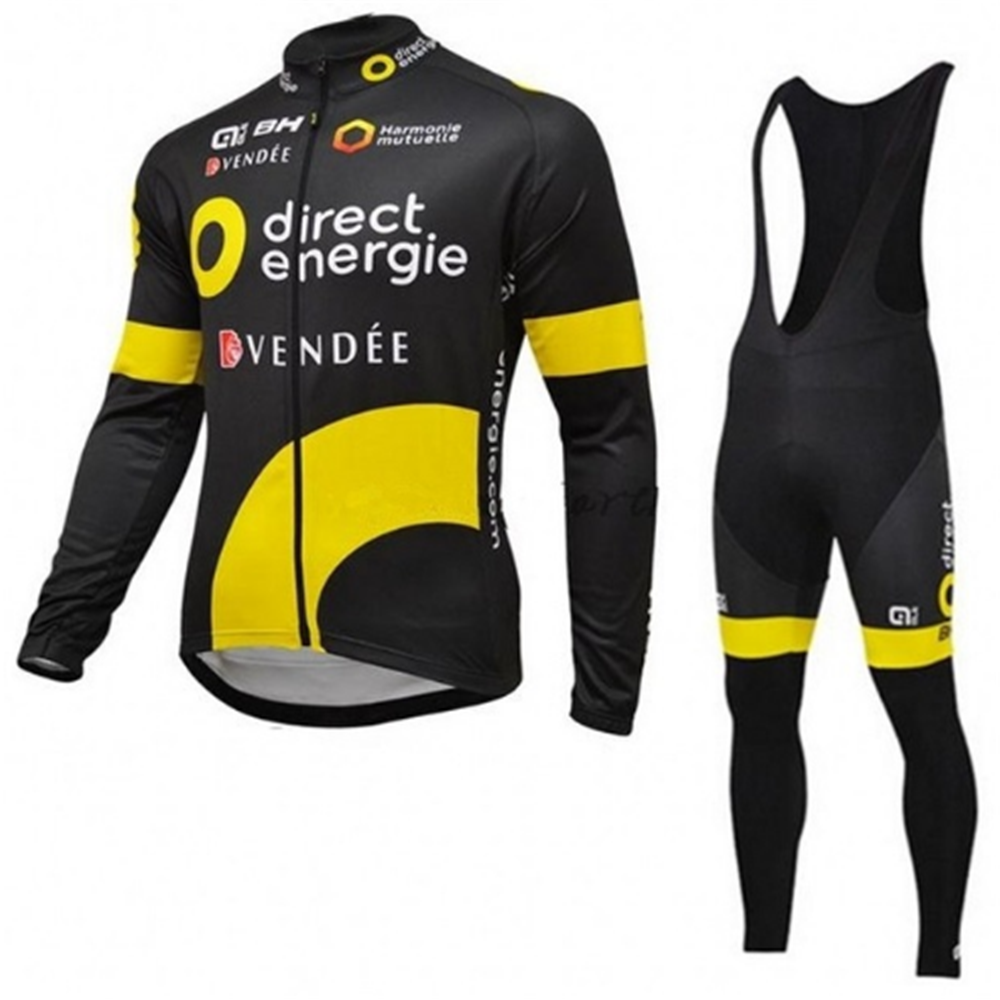 ALE 2017 Cycling Set Autumn Thin Long Sleeves Cycling Jerseys Clothing Pants Bib Kits Bike/Bicycle Wear Ropa Maillot Ciclismo