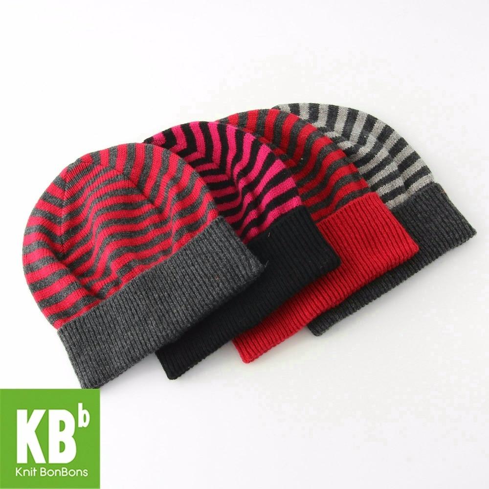 2017 KBB Spring 4 Colors Classic Men Women Children Striped Yarn ...