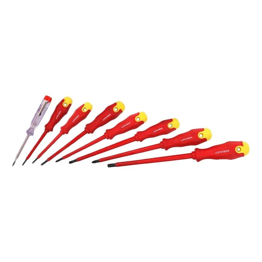Screwdriver STAYER 25145-H8 z01 screwdriver set stayer 25311 h41