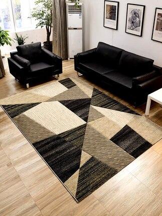 Simple moderne salon table basse chambre tapis nordique géométrique pleine boutique ménage chevet couverture table basse pad thique