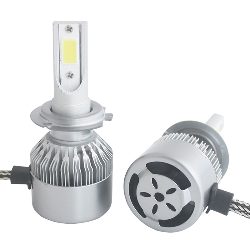 72W 8000lm H11 H4 H7 LED cob Car Automotives Լուսարձակող - Ավտոմեքենայի լույսեր - Լուսանկար 5