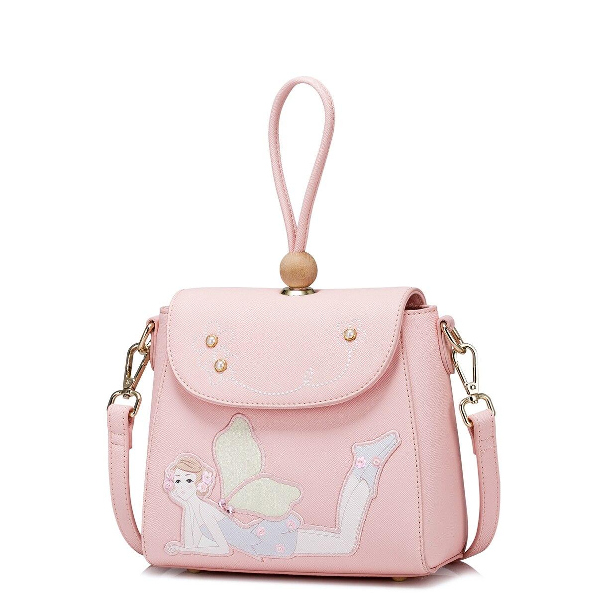 Summer Zipper Sweet Flower Fairy Korean Women handbags casual shoulder Crossbody bags Messenger tassel bag annie chun s go chu jang korean sweet