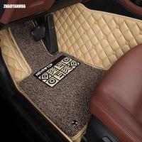 ZHAOYANHUA Car Floor Mats For Mercedes Benz M ML GLE Class W164 W166 250 300 320