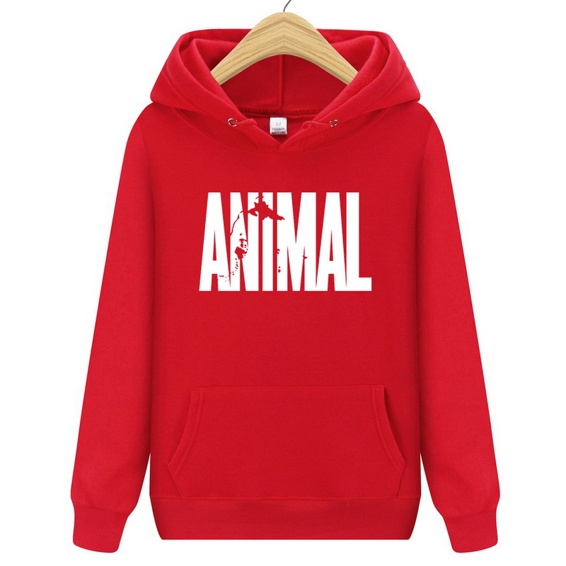 New 2018 Hoodies Men Long Sleeve Hoodie animal print Sweatshirt Mens Casual Brand Clothing pullover Hoody
