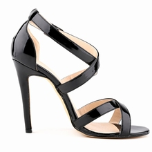 Women Pumps High Heels Shoes 11 CM Fashion Lady Sandals Candy Colors Pant Leather For Party And Wedding  2017 Summer Hot Sales