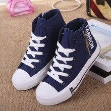 2016 Unisex Boys Girls Skateboarding Shoes Nonslip Kids Sneakers Children Sport Shoes Jean Canvas Shoe Infant outdoor shoe