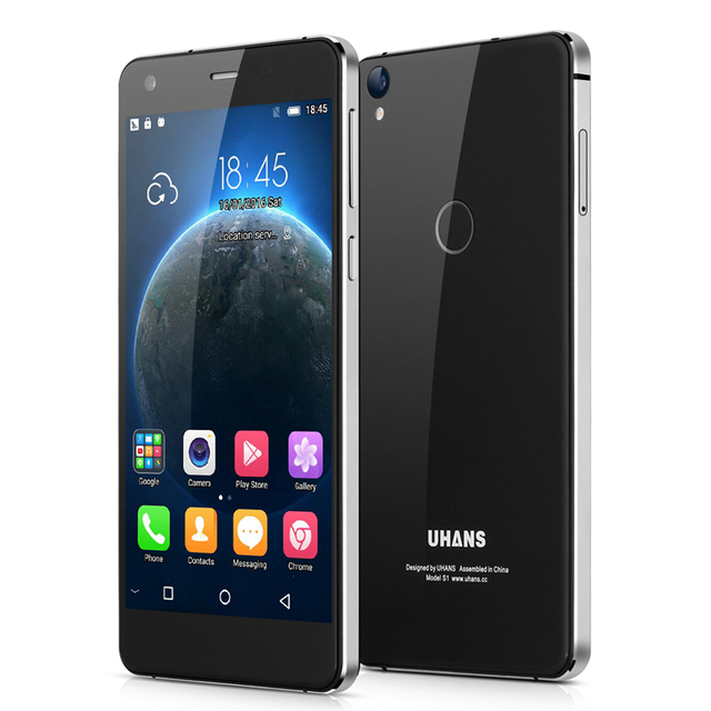 Original Uhans S1 5.0 Inch Android 6.0 MTK6753 Octa core Smartphone 32G ROM 3G RAM Cell Phones 4G 2200mAh Unlock Mobile Phone