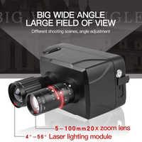 Nova chegada hd digital night vision scope 20x zoom óptico lcd inteligente 5 polegada tela binóculos de câmera infravermelha a laser para a caça