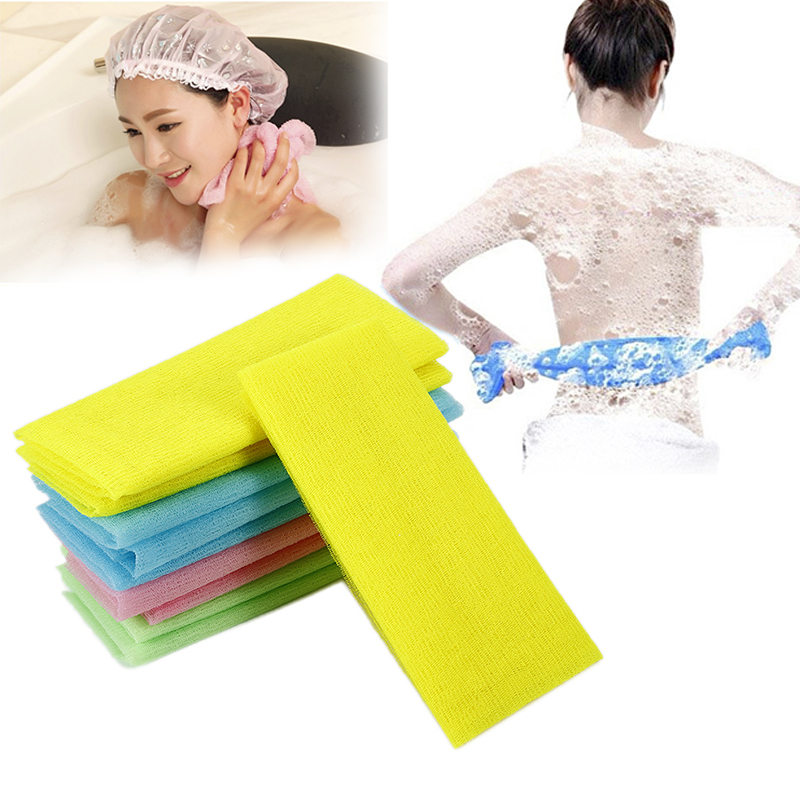 Bath Shower Body Washing Cleaning Scrubbing Towel