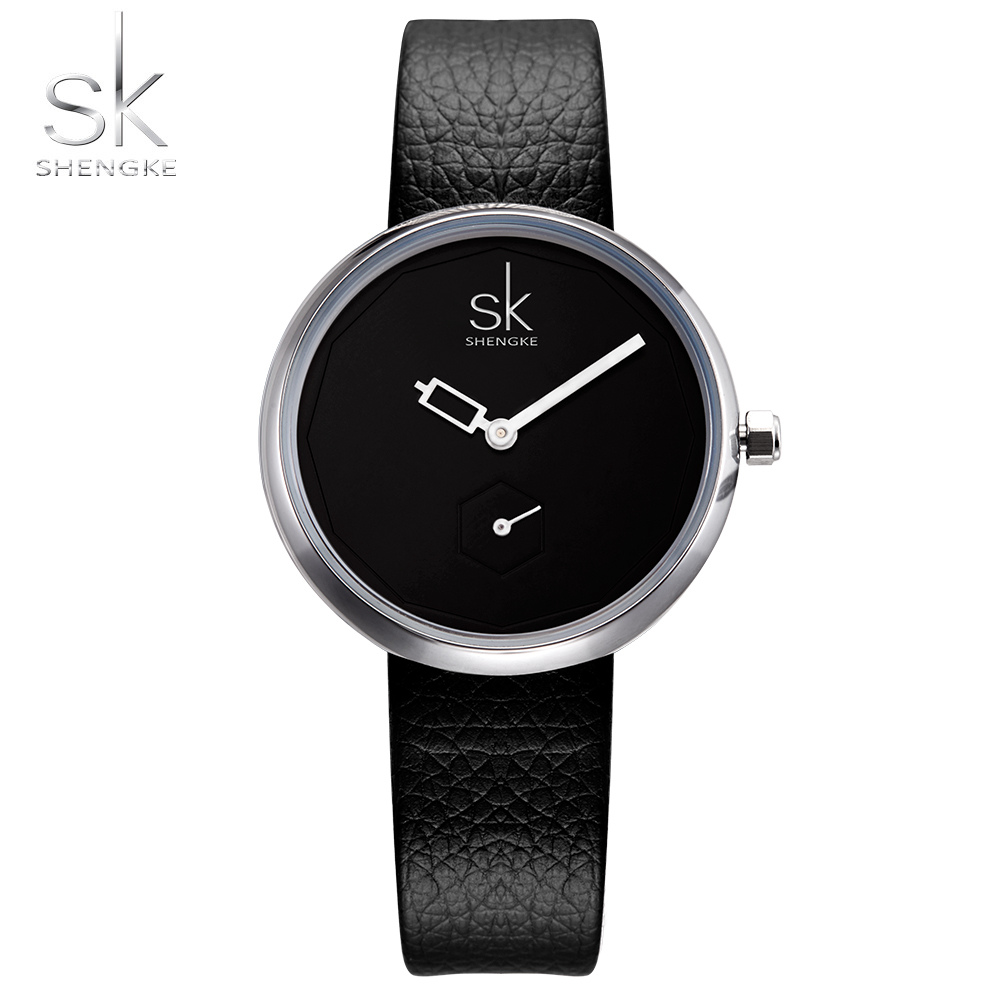 SHENGKE Luxury Quartz Women Watches Brand Fashion Ladies Leather Watch Clock Relogio Feminino for Girl Female Wristwatches 2017 shengke women watches luxury brand wristwatch leather women watch fashion ladies quartz clock relogio feminino new sk